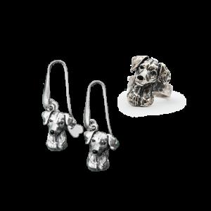 Ringe und Ohrringe